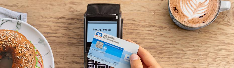 Kontaktlos bezahlen - VR-Bank Taufkirchen-Dorfen eG