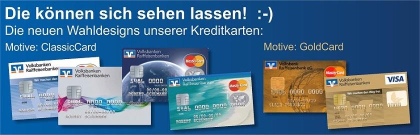 Vr Bank Kreditkarte Design
